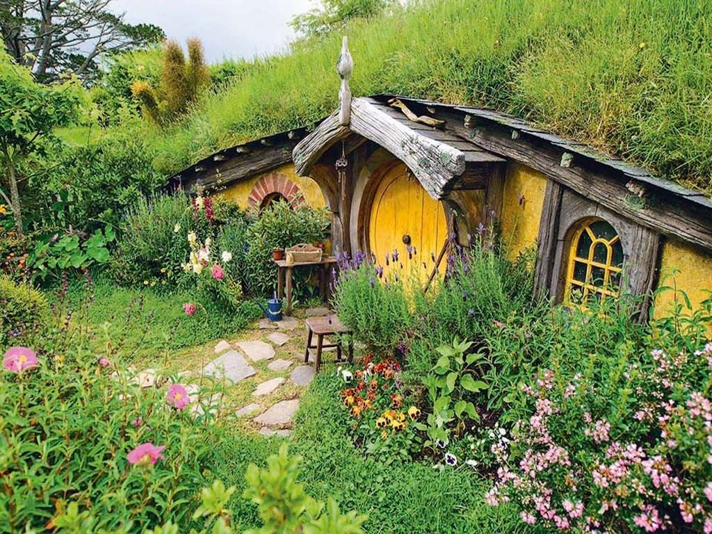 Hobbiton Movie Set New Zealand The Lord Of The Rings