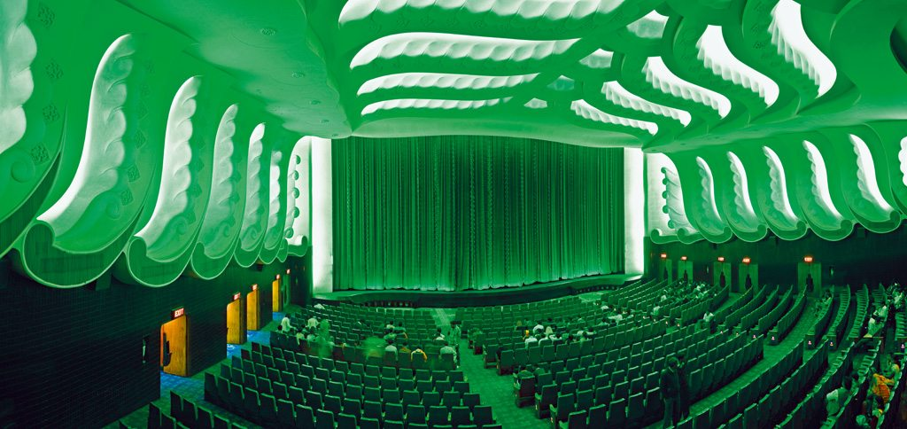 The air-conditioning ducts inside the hall are said to release a floral scent during every screening. Photo: Massimo Borch/Latitude/Corbis/Imagelibrary