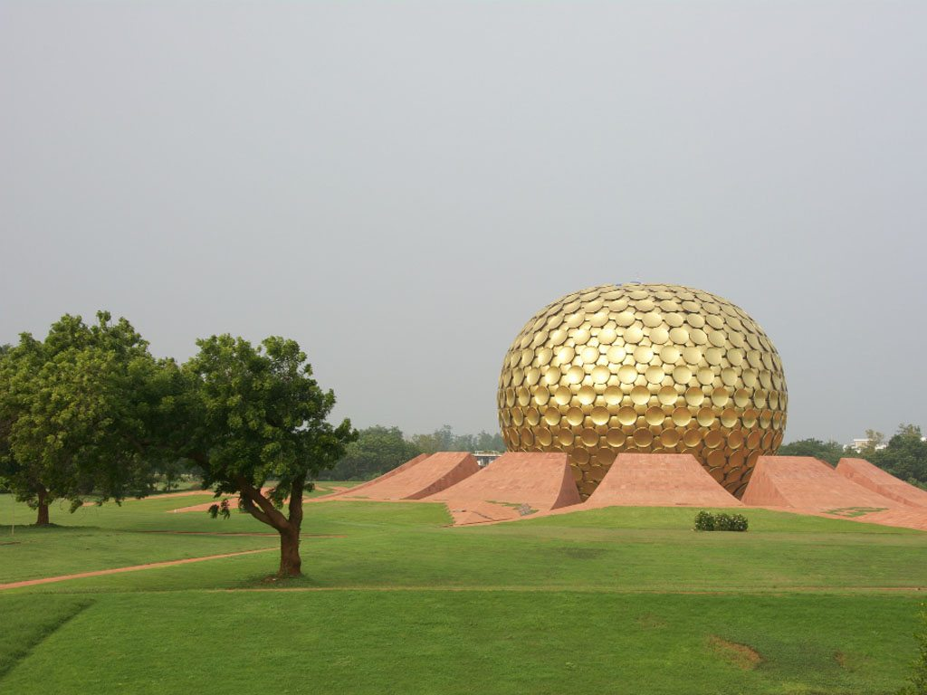 Matrimandir Auroville Pondicherry