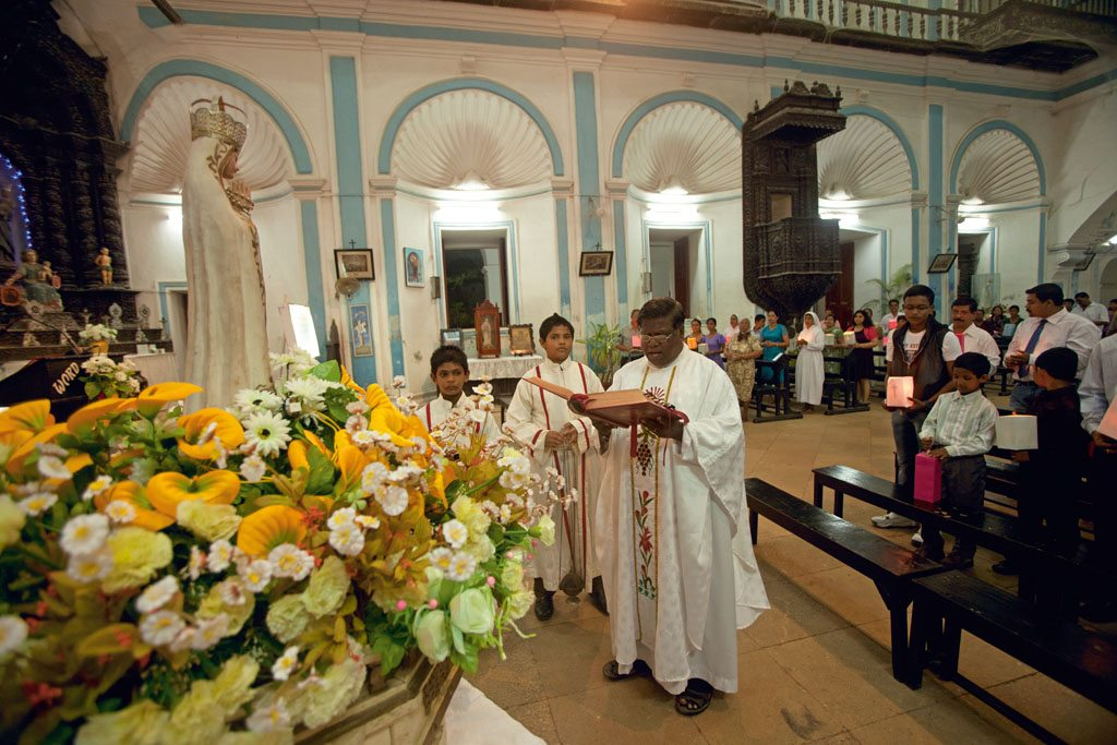 Mass St Paul's Church India Diu