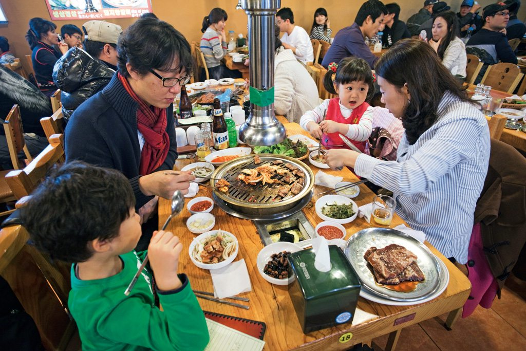 family barbecue restaurant