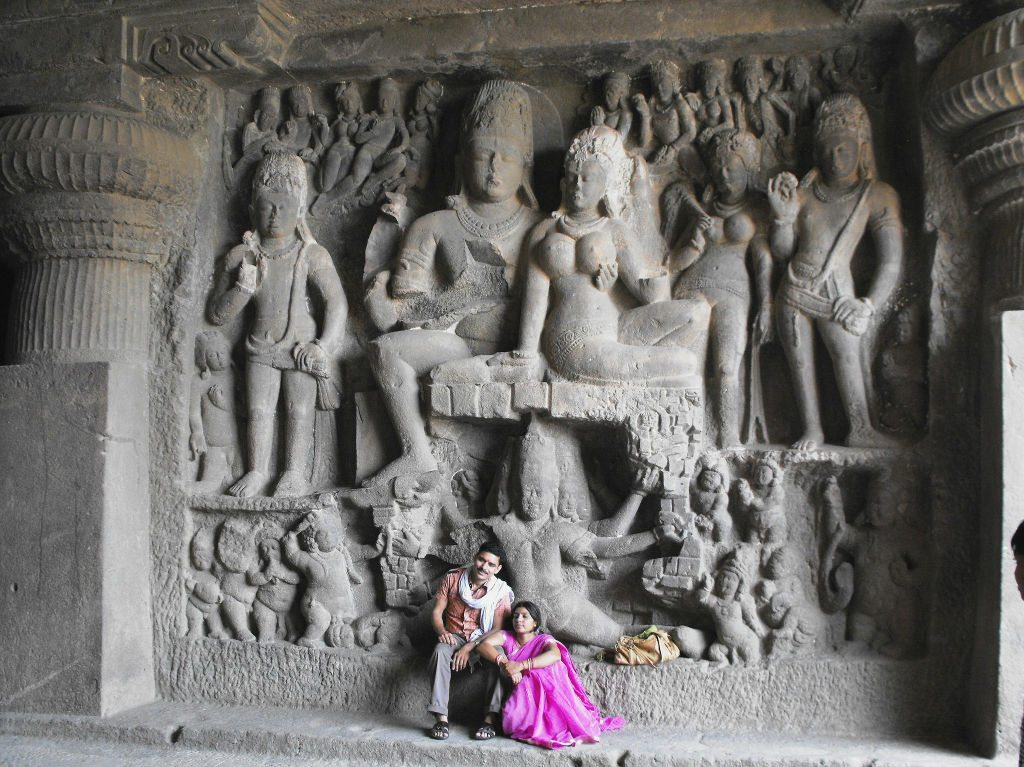 Carvings at ajanta