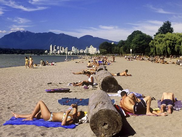 beach in Vancouver