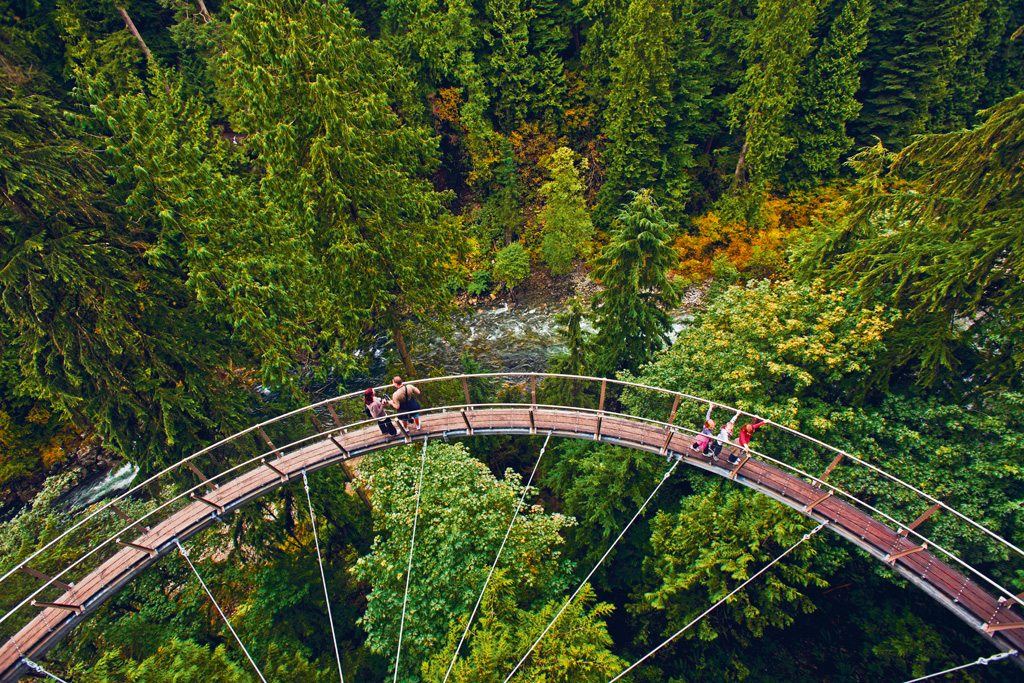 Vancouver Canada Capilani Suspension Bridge