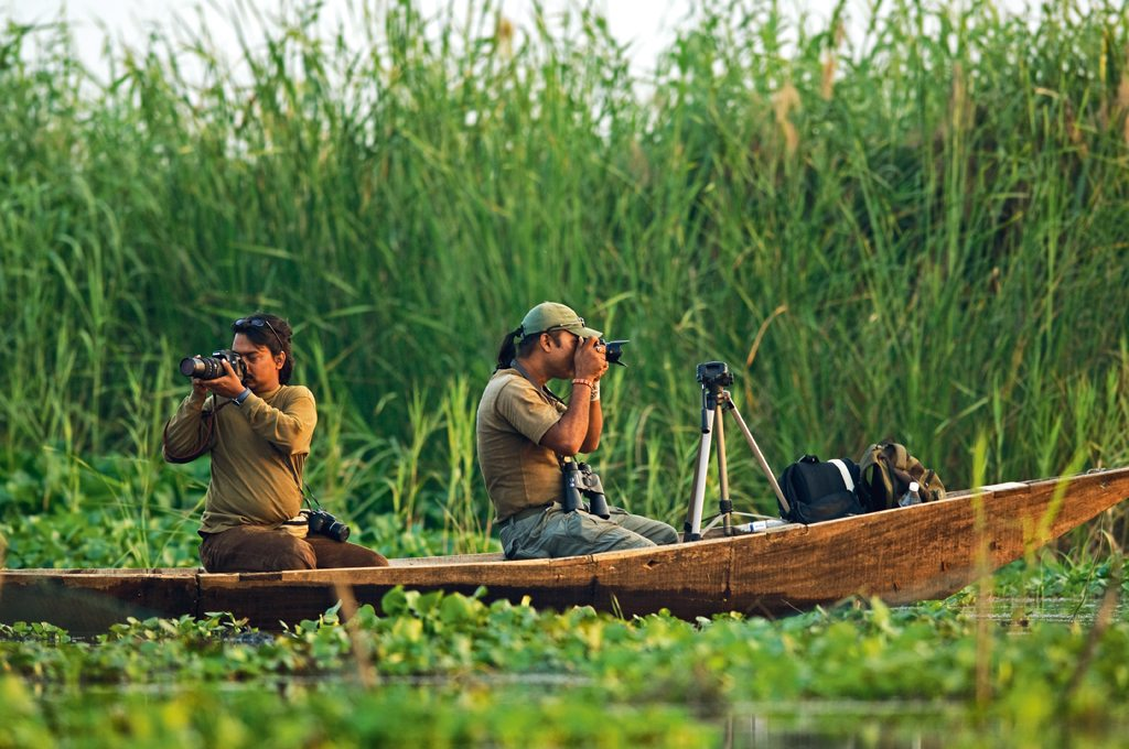 Chilika Lake is known for birding, boating, fishing, and angling