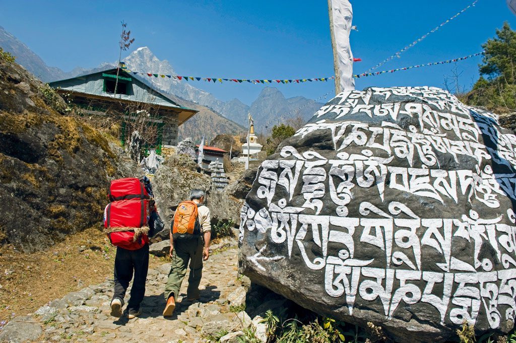 Mount Everest Stones Spiritual Trek
