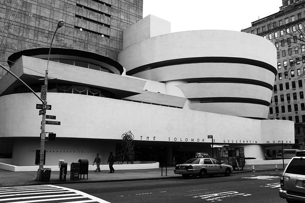 Guggenheim Museum USA Frank Lloyd Wright New York
