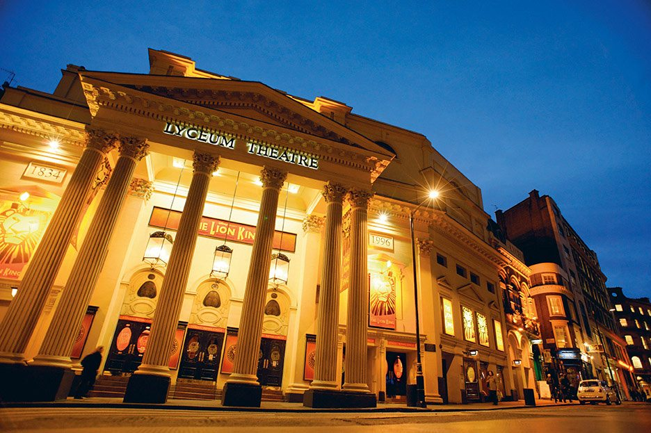 Young Gandhi felt that going to the theatre was a great way to learn the ways of the world. The Lyceum was one of his favourite venues and it still runs shows today. Photo: Kevin Foy/Alamy/India Picture