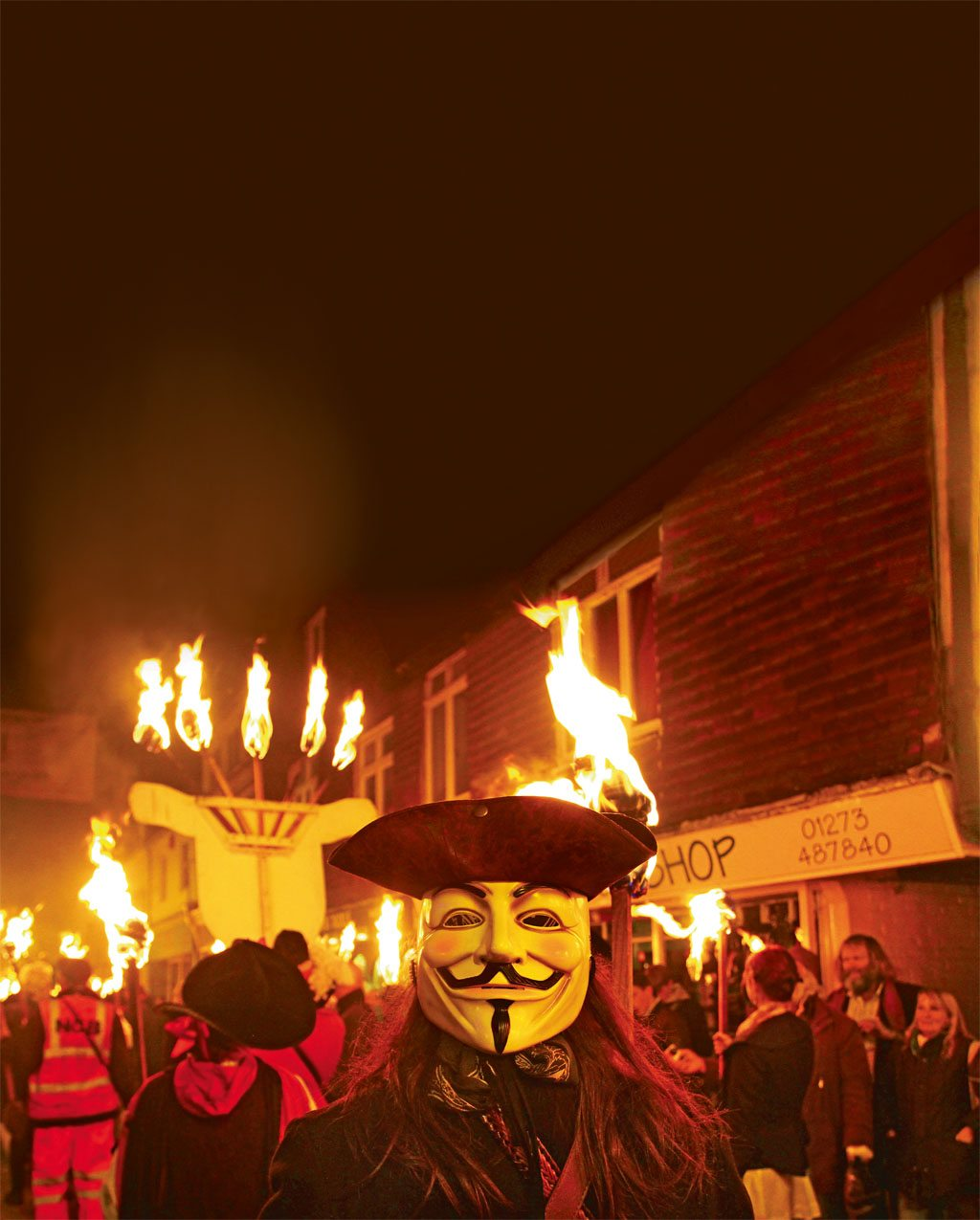 Guy Fawkes in East Sussex. Photo: Lazar Gergos
