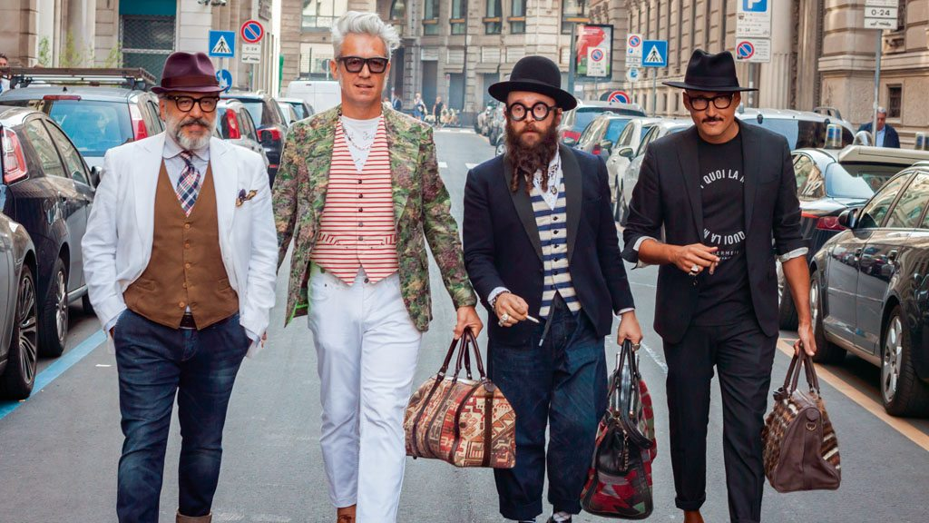 The fashion industry is a vital part of Milan's identity and when the biannual Milan Fashion Week comes around, many flaunt their trendy styles and natty attire in the city's streets. Photo: Stefano Tinti/Shutterstock