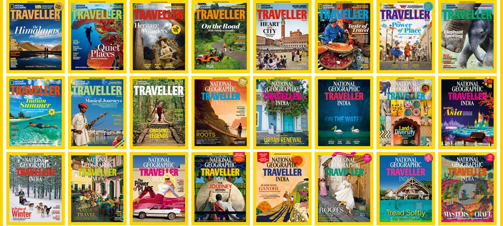 Nat Geo Traveller Covers