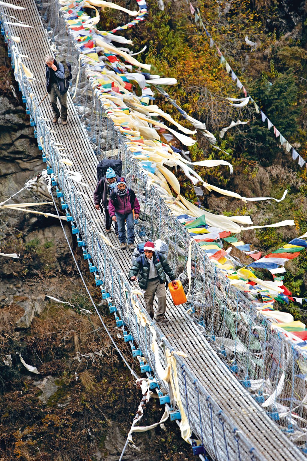 Mount Everest Sherpa Bridge