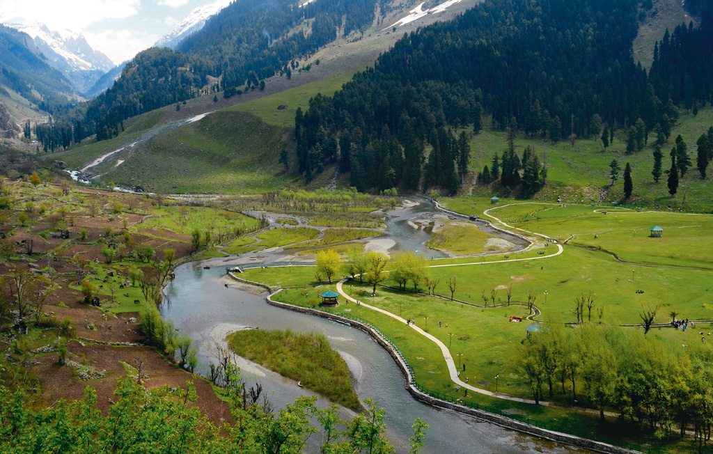 scenery of Pahalgam