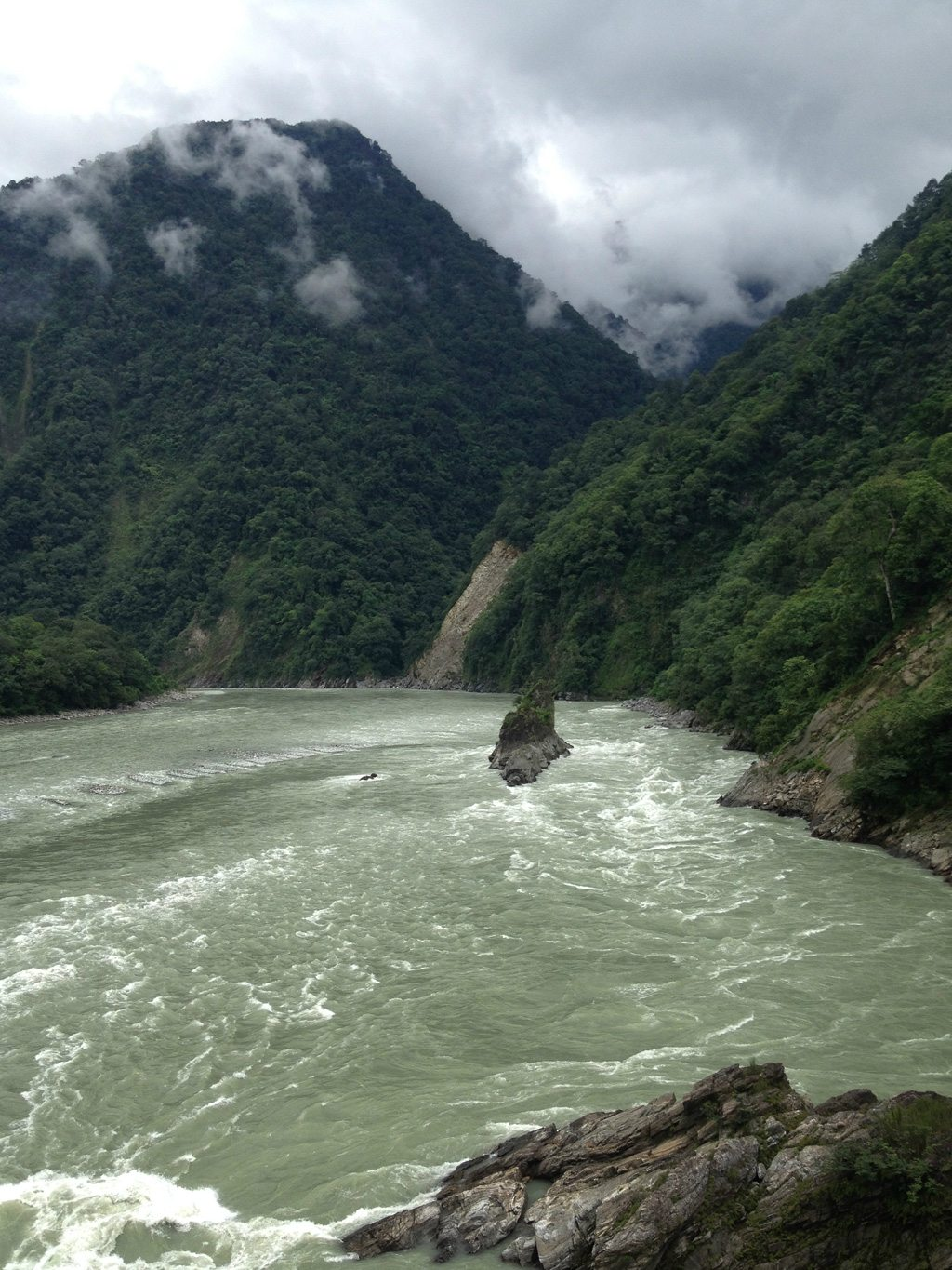 Parasuramkund Arunachal Pradesh Mountains River