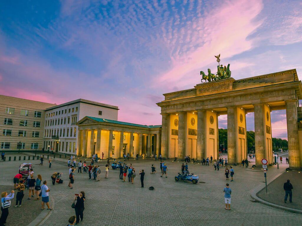 Parisez Platz Berlin Germany
