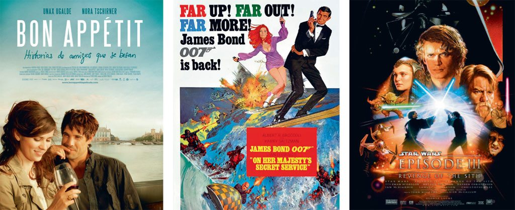 Posters Bon Appetit Star Wars: Episode III On Her Majesty's Secret Service