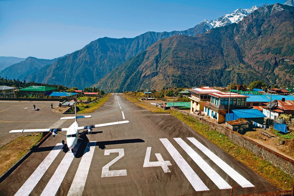 Mount Everest Lukla Airstrip
