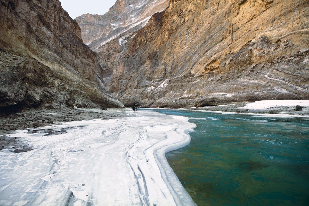 The frozen river Zanskar