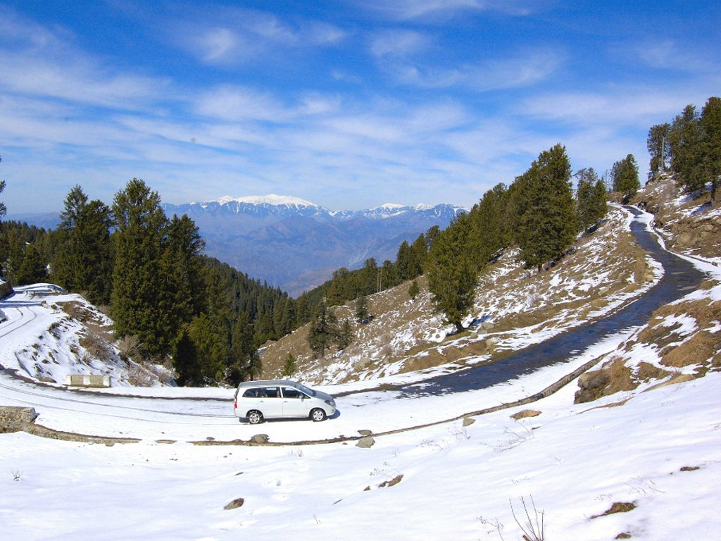 Dalhousie Winter Road