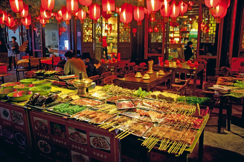 food market in China
