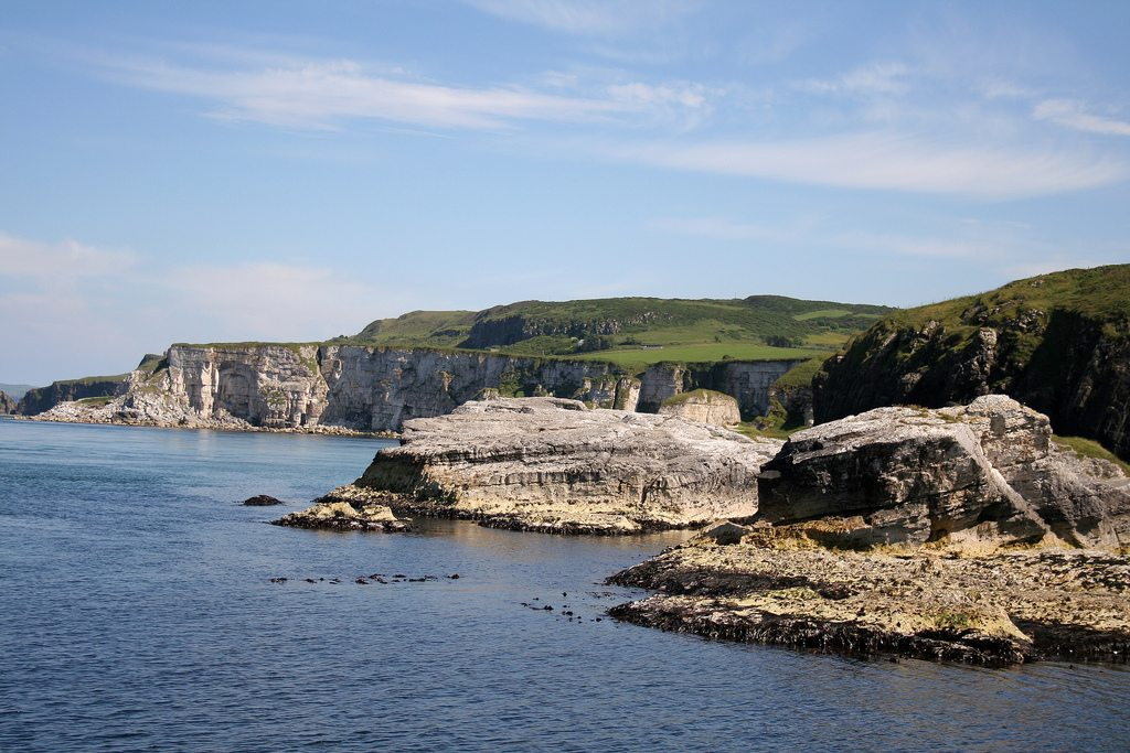Ballintoy harbour Northern Ireland Winterfell