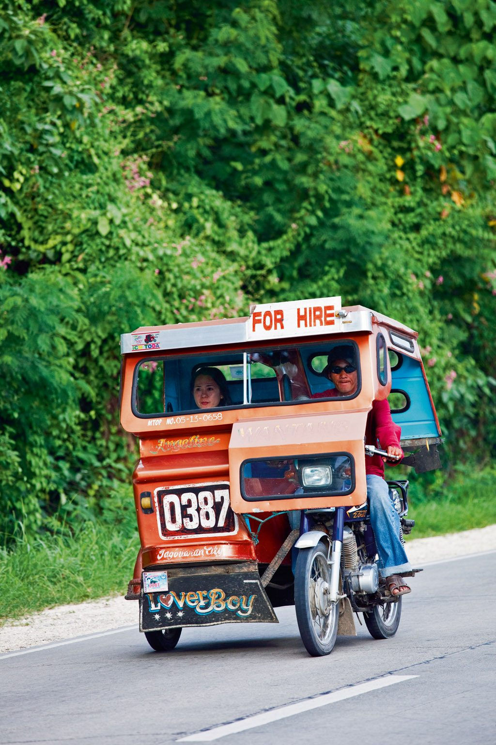 Travel in a tricycle