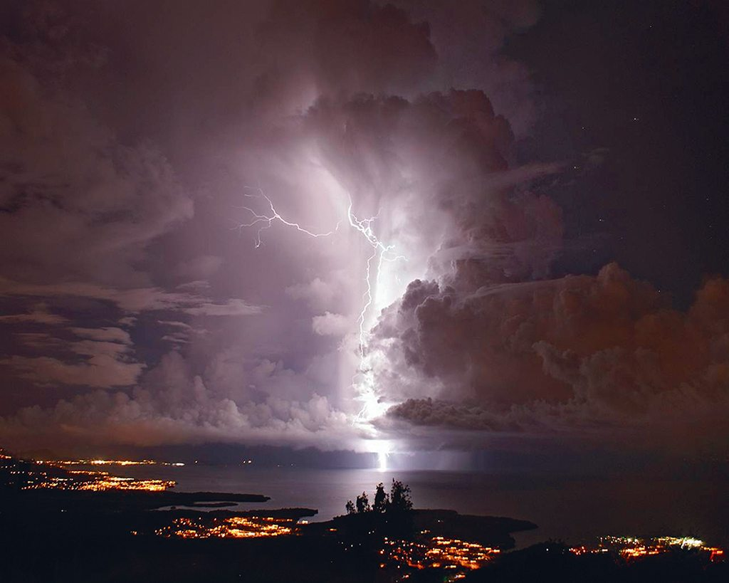 Venezuela's Catatumbo Delta is a place that literally lights up almost every night