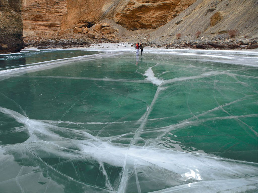 the frozen zanskar