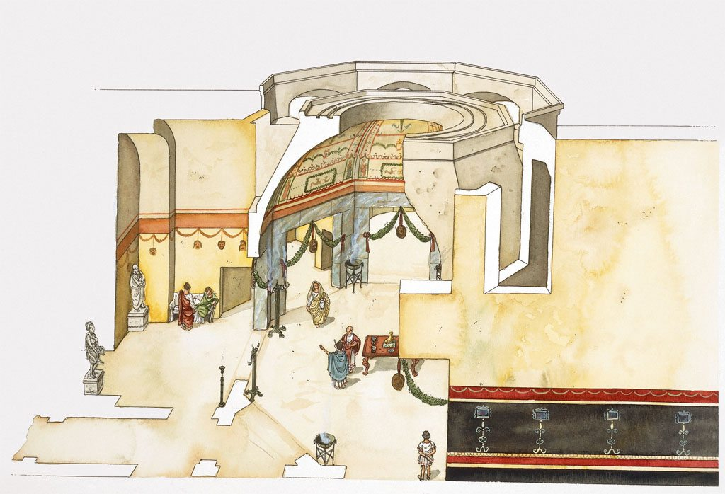 The Infamous Nero's Palace Emerges From Rome's Hidden ...