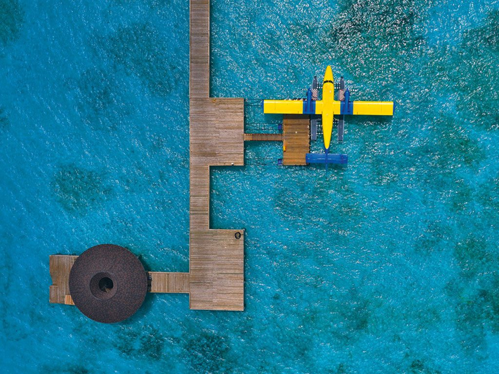 Sea Plane Atmosphere Kanifushi Maldives