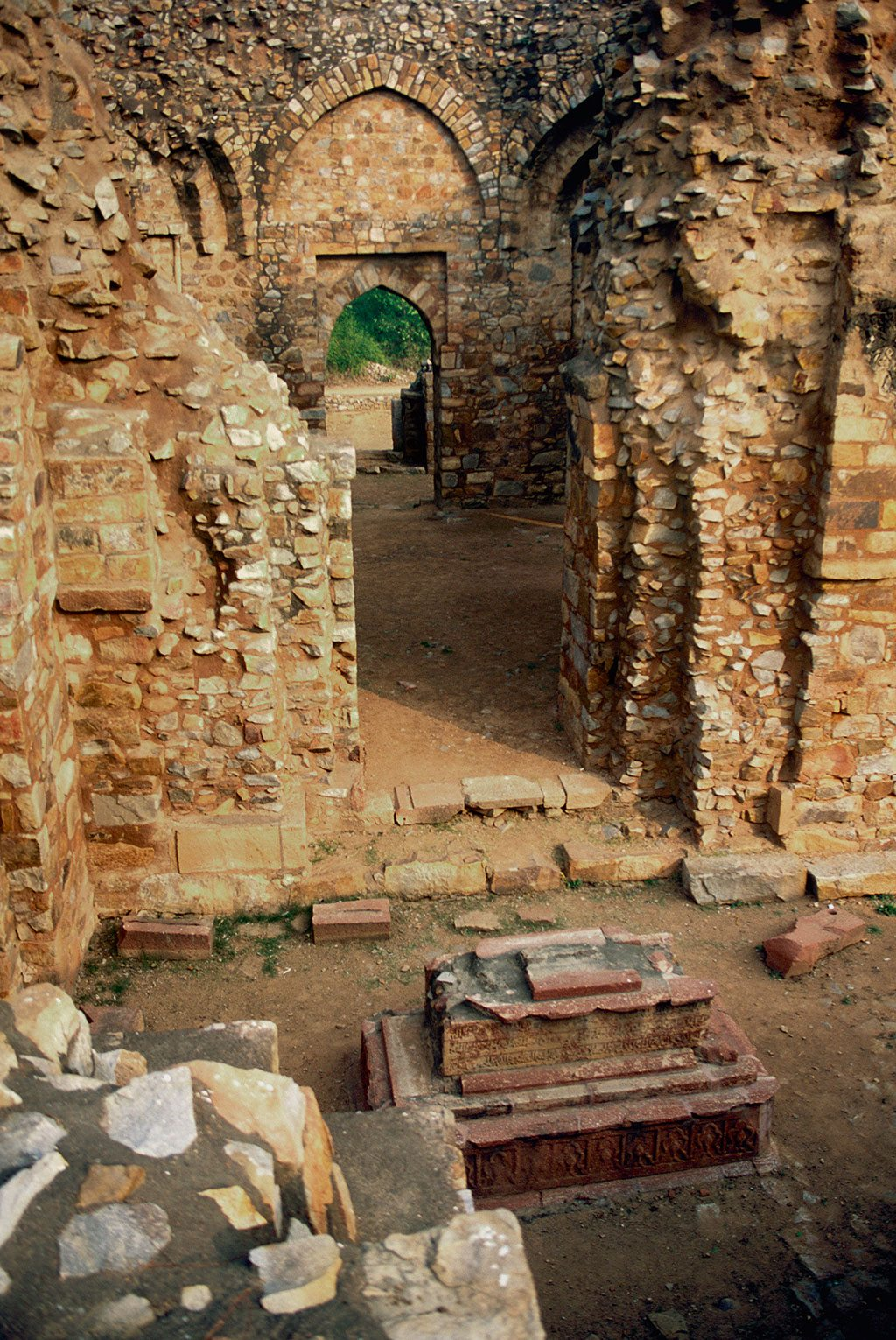 Balban's tomb is remarkably well preserved despite being open to the skies. Photo: Ashoo Sharma/Indiapicture/Dinodia