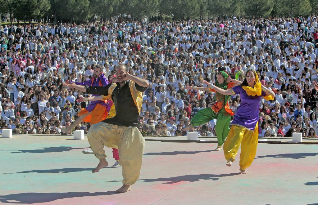 Sabadell Spain Holi Bollywood