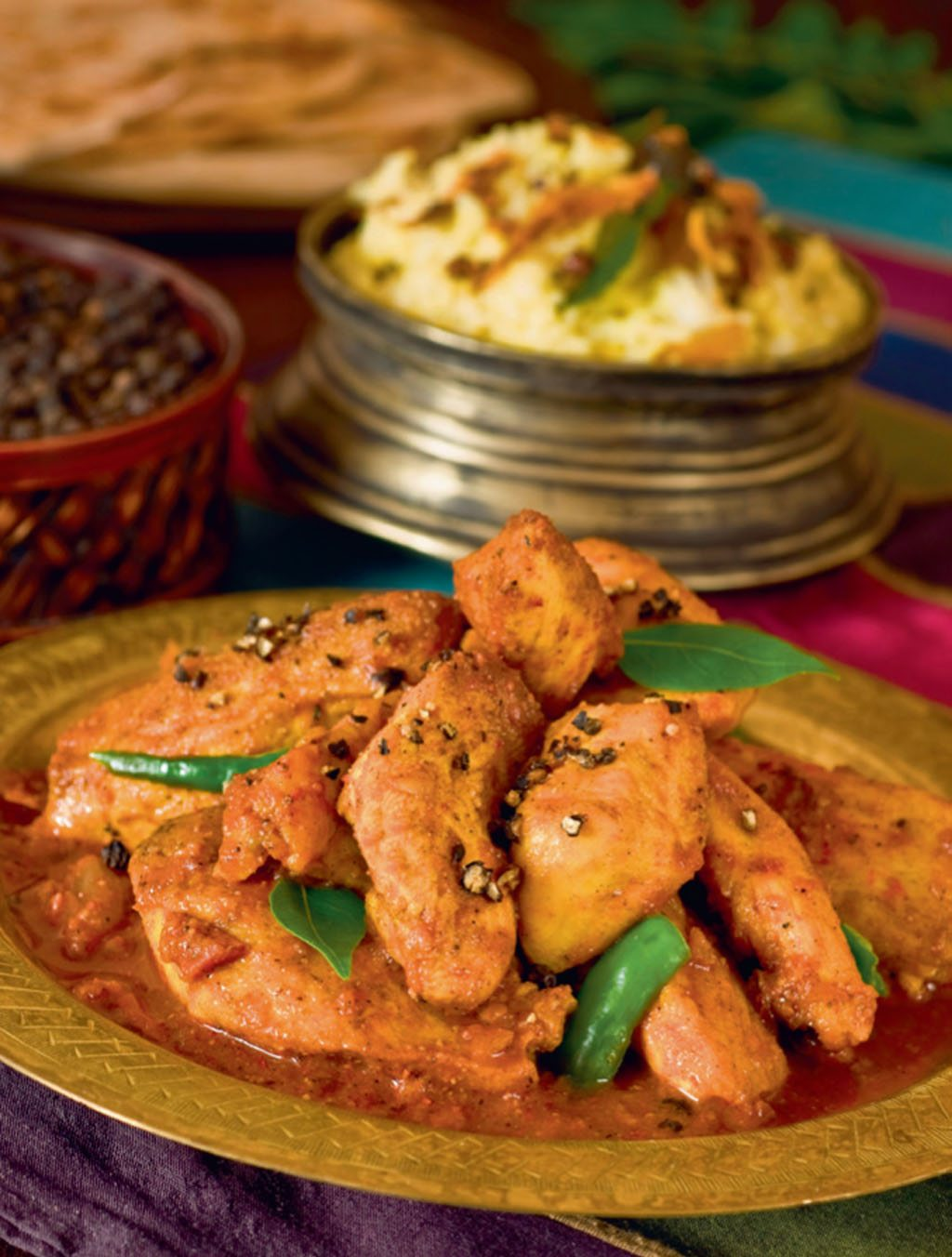 Chettinad Pepper Chicken Tamil Nadu Bangala
