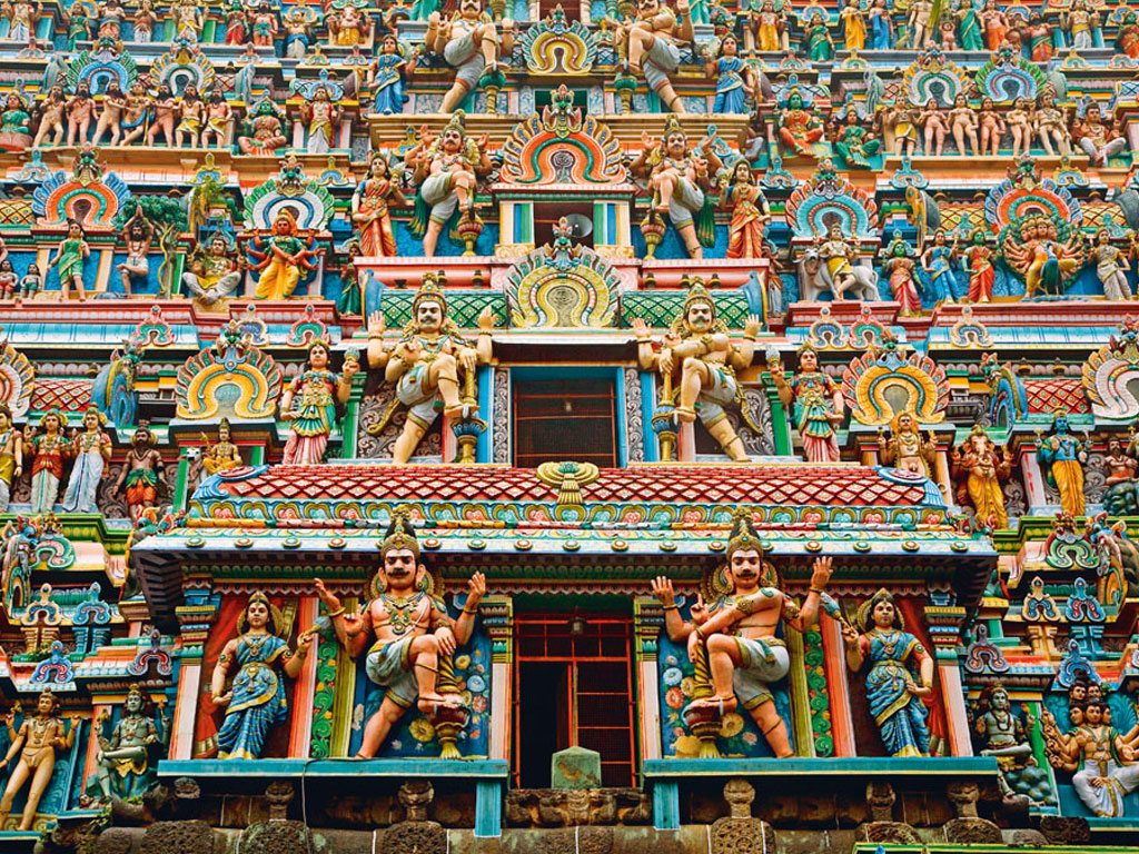 report indian temples