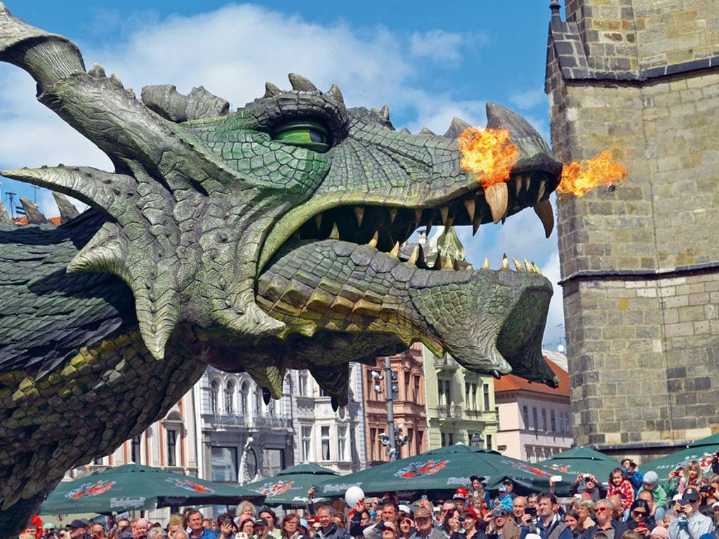 Dragon festival, Germany