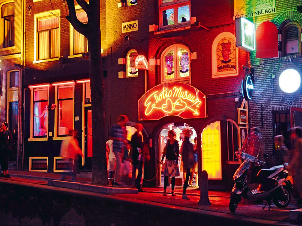 Amsterdam red stories light Erotic