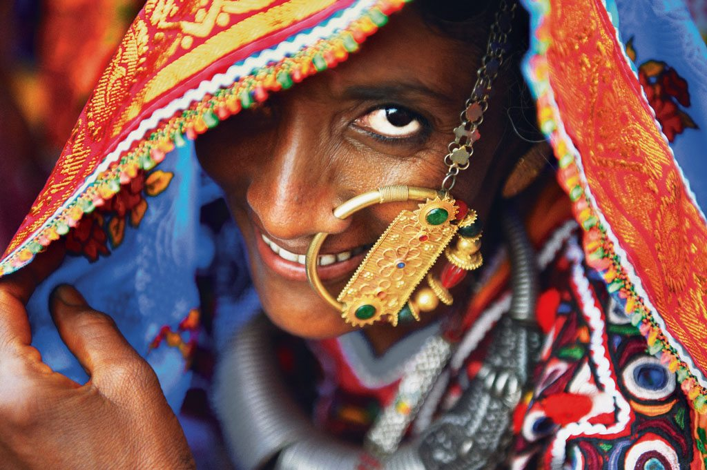 Kutch Gujarat Women Nose Ring