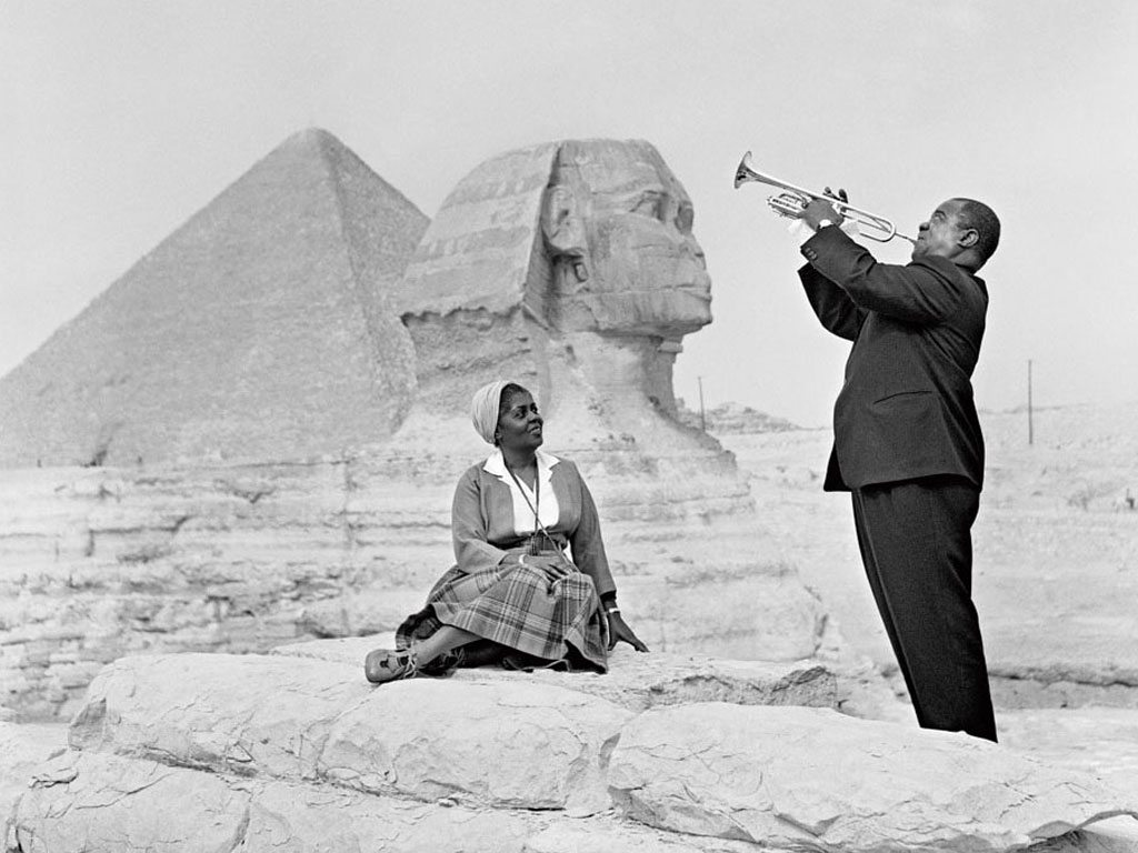 Egypt Giza Louis Armstrong Great Sphinx