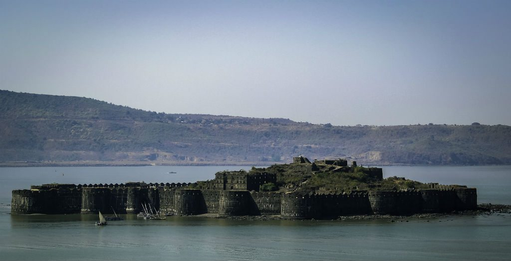 The Janjira Fort, about 3km from the coast of Murud, was built by the Abyssinian Siddis and is among India's impregnable forts. It is said that Shivaji tried to capture the fort six times but failed. Photo: Ishan Manjrekar/Flickr/Creative Commons (http://bit.ly/1jxQJMa)