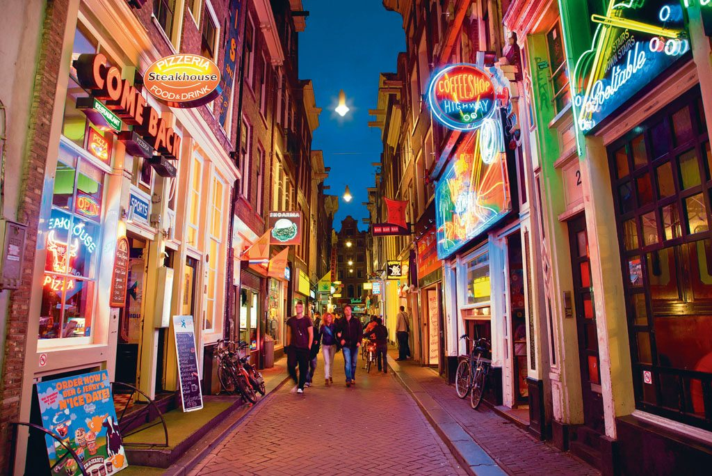 Red Light District Netherlands Amsterdam