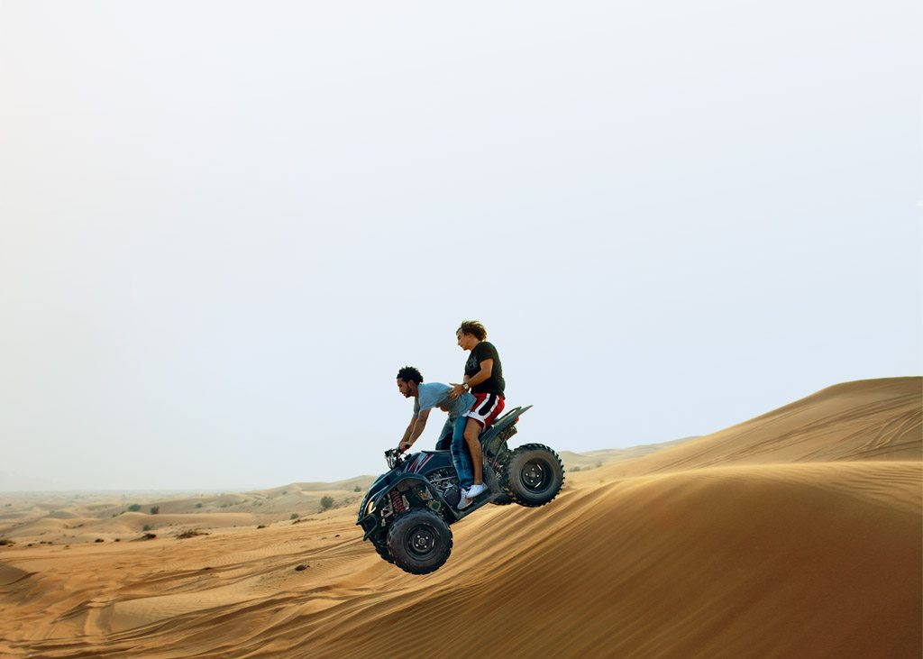 Quad bike, Arabian Desert, Dubai