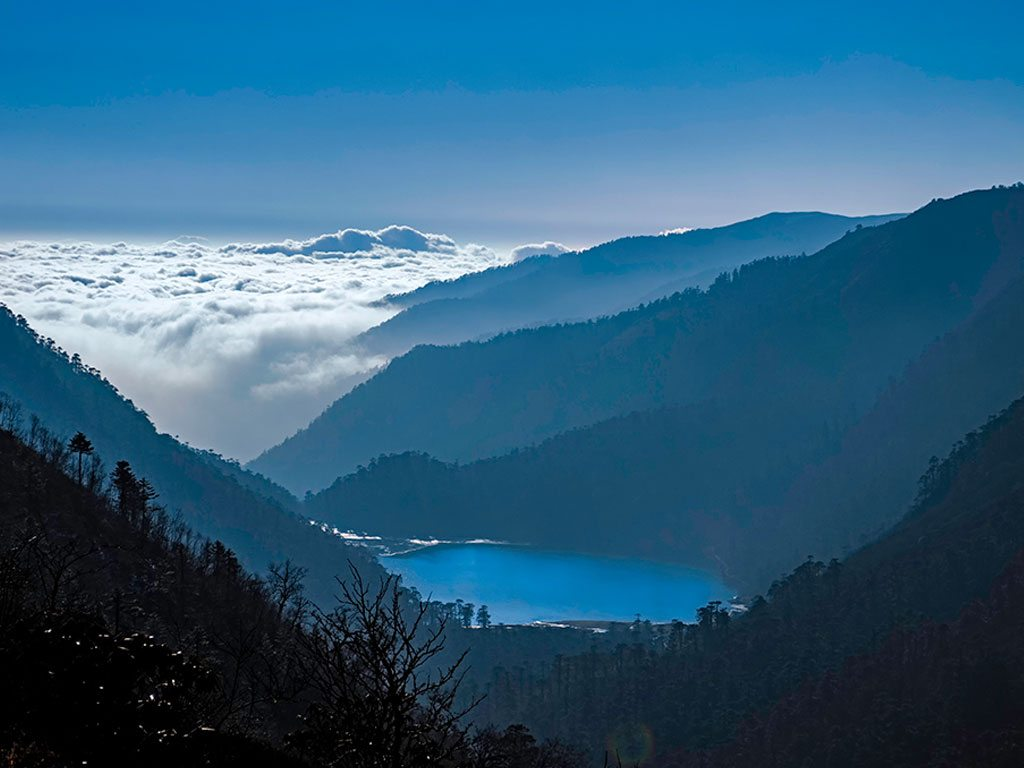 menmecho lake, sikkim, photo by Sanjib Basak