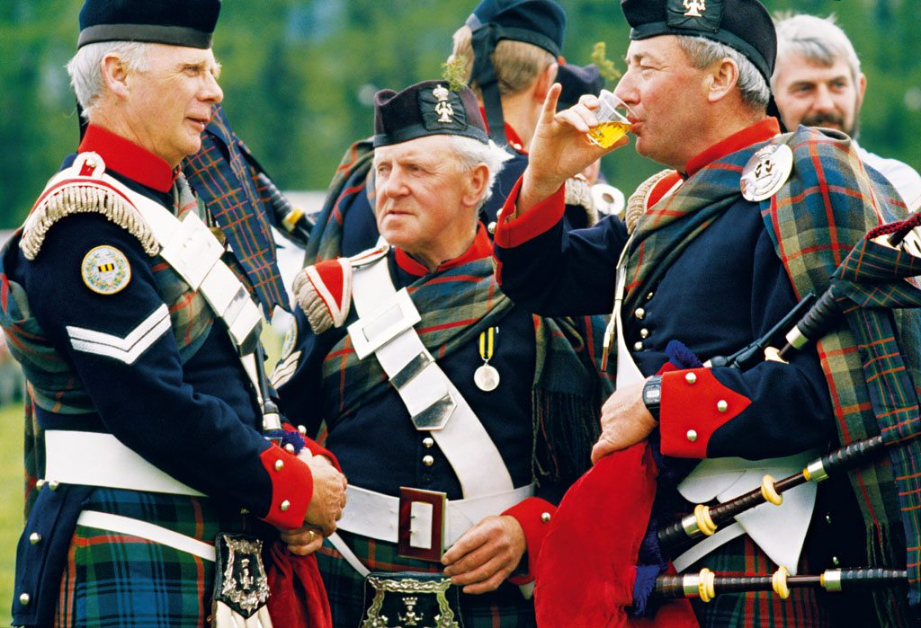 Scottish Highlander Gathering Speyside Scotland