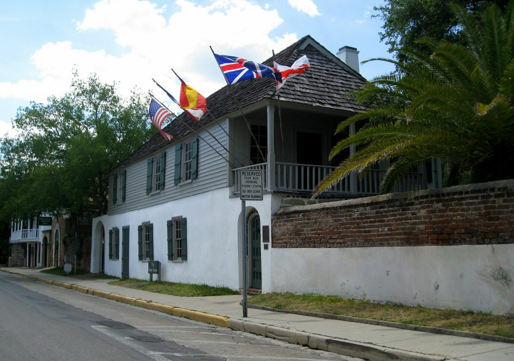 St Augustine Gonzalez-Alvarez House Oldest House Florida