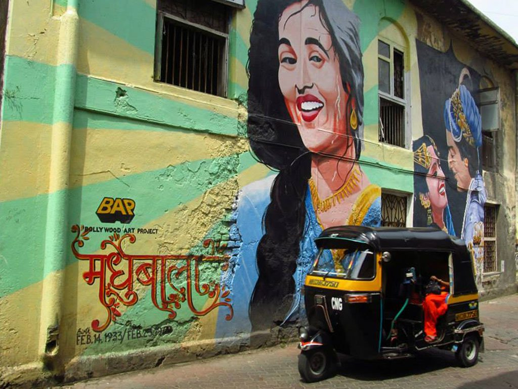 Bandra street art, photo by Faisal Pokar