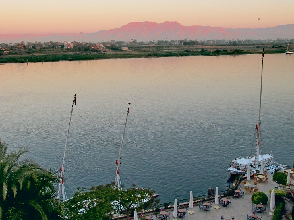 Nile at Luxor