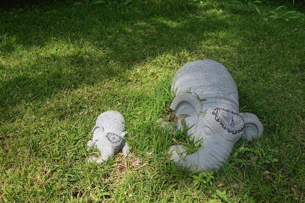 elephant sculptures