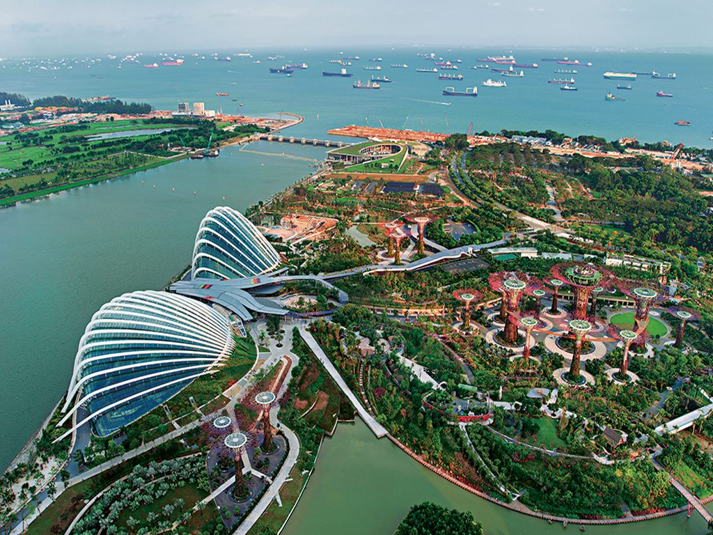 Horticultural Attraction Singapore Gardens by the Bay