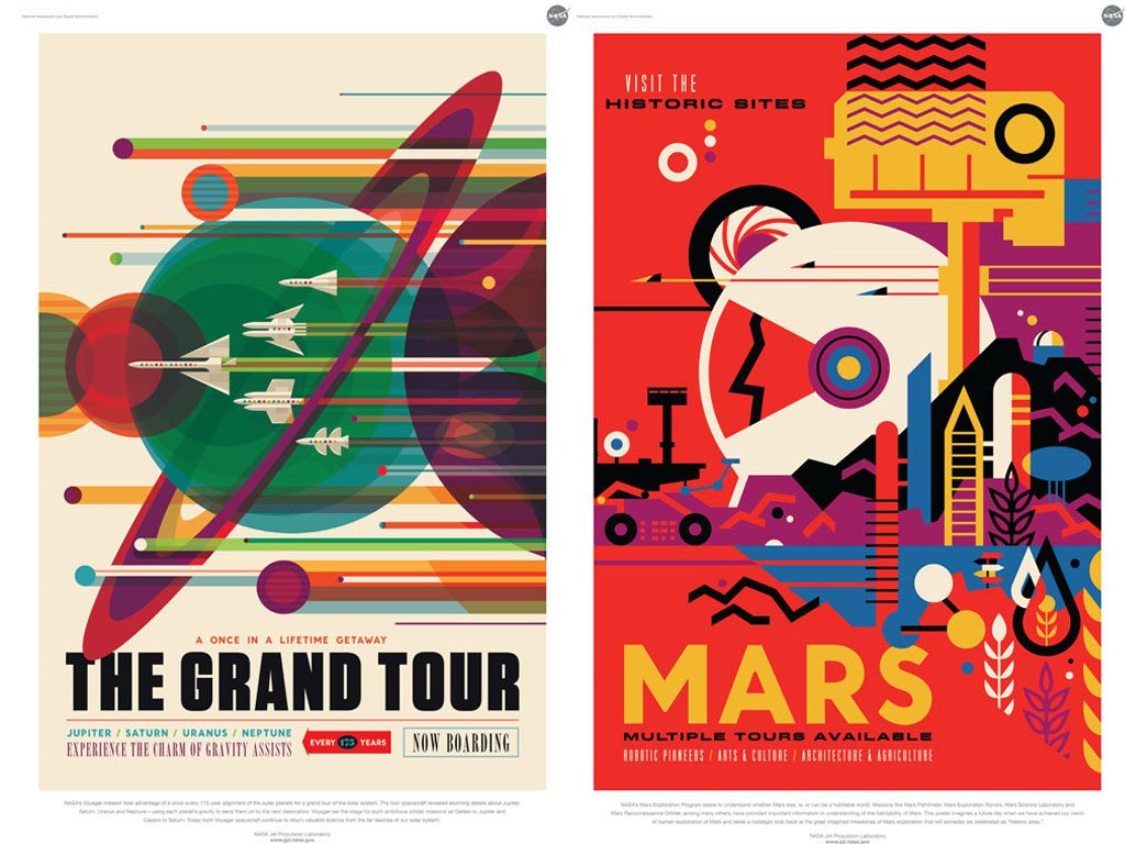 NASA Space Posters Exoplanet Travel Bureau