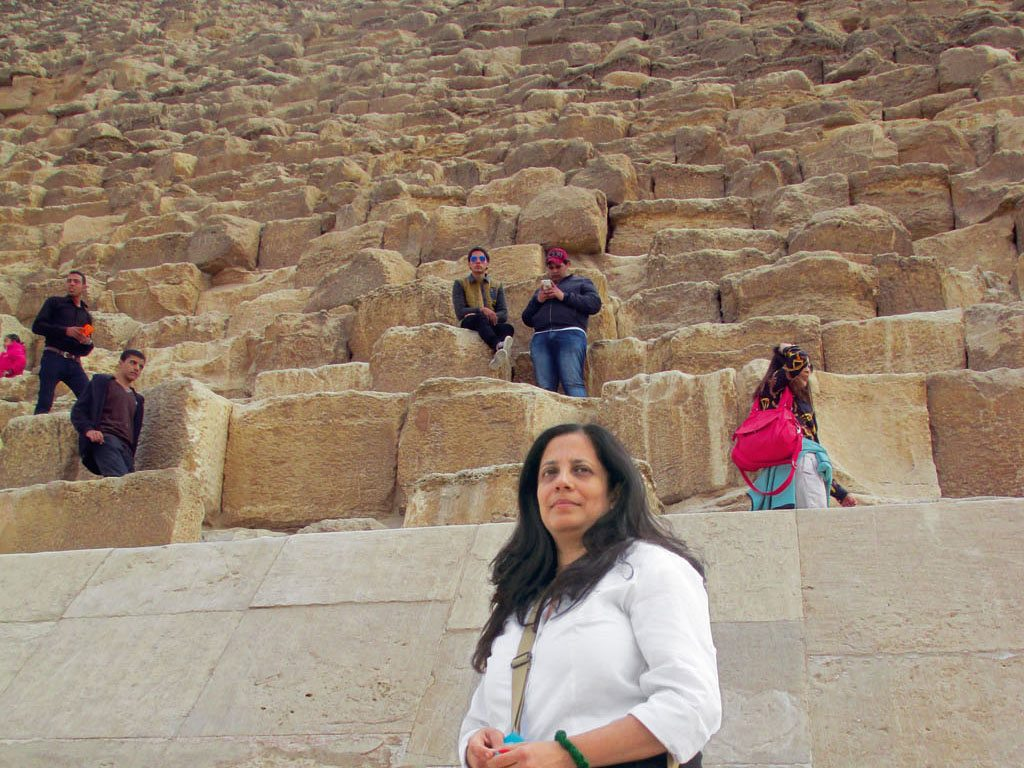 A trip to Egypt helped Niloufer realise that perceptions of safety are often skewed. Photo courtesy Niloufer Venkatraman.
